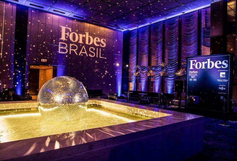 Evento da Forbes no The Pool em Nova York