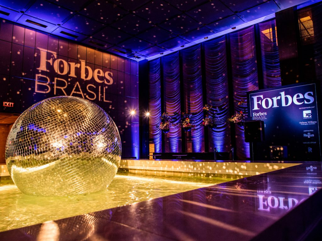 Evento da Forbes no The Pool em Nova York