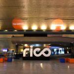 Área de convivência do evento da Rico Connect